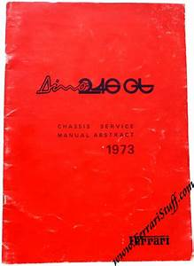 Ferrari Workshop Manuals