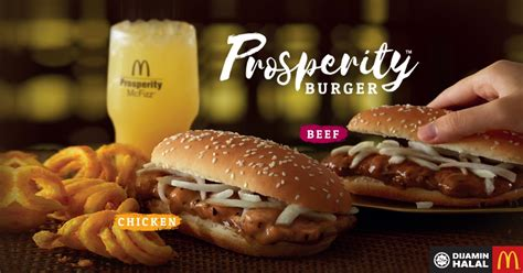 prosperity burger   mcdonalds malaysia