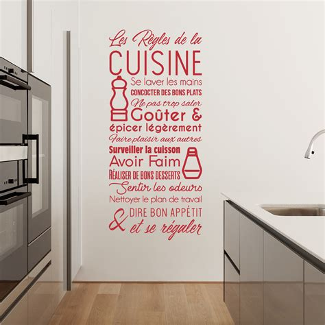 stickers citations cuisine sticker citation les règles de la cuisine stickers