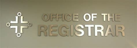 Office Of The Registrar by Office Of The Registrar Benedictine Chicago Catholic