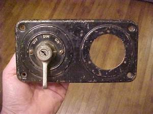 1970 Ford Ignition Switch Diagram