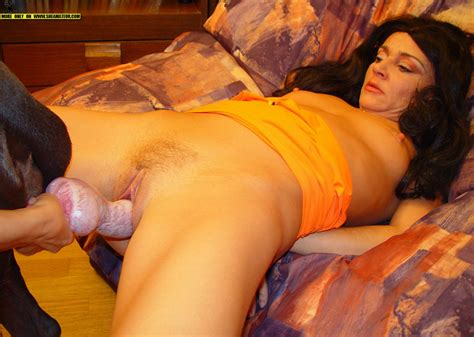all wet and ready to go or hot slut getting fucked by doggy animal sex fun
