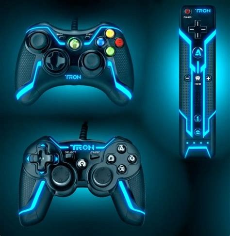 futuristic xbox controller tron 360 game console games legacy wired edition collector consoles neon ps4 playstation futuristicshop colors bike ps3