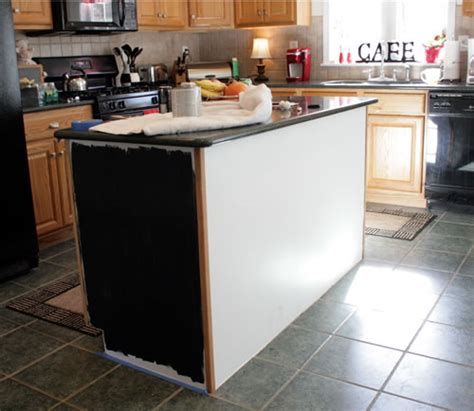 painted kitchen islands how painting the island black changed my kitchen