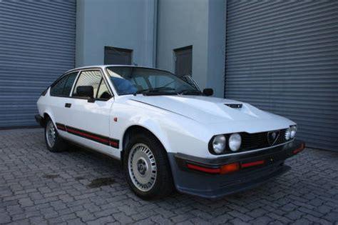 1985 Alfa Romeo Gtv6 3.0 Homologation Rhd Sold On Car And
