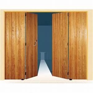 Porte De Garage Pliante À La Française 4 Vantaux : porte de garage 4 vantaux en bois uranus sothoferm ~ Nature-et-papiers.com Idées de Décoration