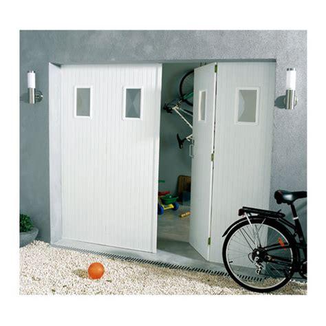 porte de garage sectionnelle castorama porte de garage 4 vantaux pvc 200 x 240 hublots helsinki castorama