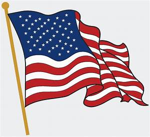 Free Clipart American Flag Waving - Cliparts.co