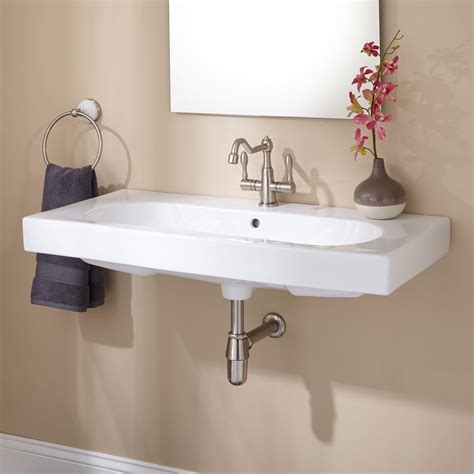 signature hardware yaromir porcelain wall mount bathroom