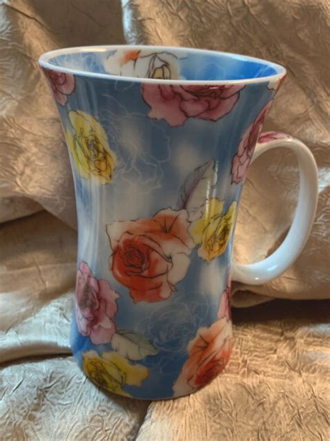 Where else can you go i don't know why the barnes & noble locations have a different blueberry scone than the regular this b&n is very nice, with the coffee lounge of course and is located in the beautiful market commons. BARNES AND NOBLE Blue floral coffee/tea mug | eBay