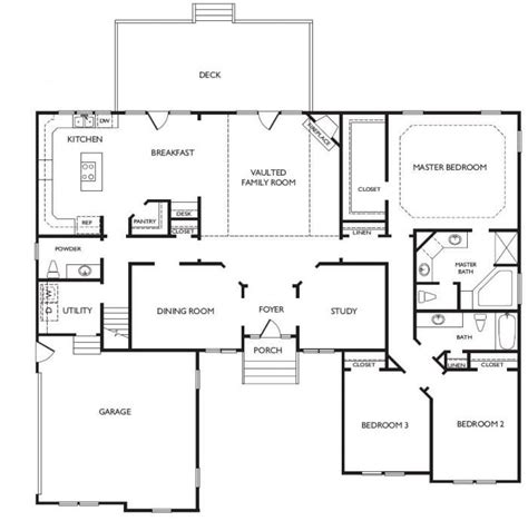 best one floor plans 1398 best house plans images on home plans