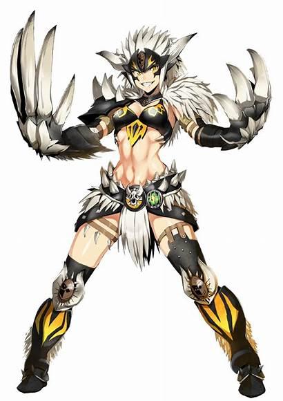 Mhw Armor Hunter Monster Anime Nergigante Chosen