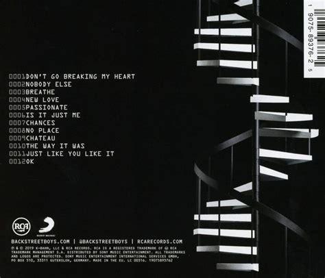 backstreet boys cd dna musicrecords