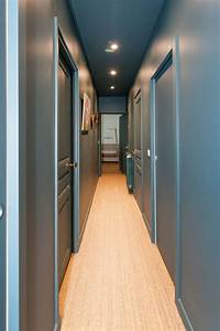 Porte De Couloir : am nagement couloir troit et sombre c t maison ~ Nature-et-papiers.com Idées de Décoration