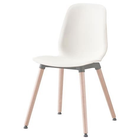 ikea white wood desk chair leifarne chair white ernfrid birch ikea