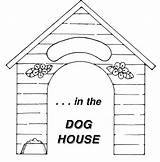 Clipart Dog Clip Doghouse Cliparts Clipartion Library Diagram Wikiclipart Mega Digital sketch template