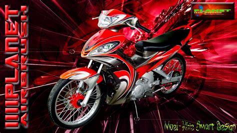 Modifikasi Jupiter Mx 2007 by Modifikasi Motor Jupiter Mx Airbrush Thecitycyclist