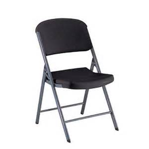black folding chair sam s club
