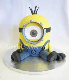Minion Cake Tutorial