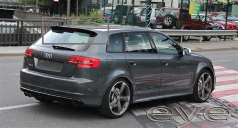 audi a3 8p lenkrad audi a3 8p 5d 5 doors 03 12 rs3 look rear roof spoiler ebay