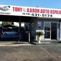 tony aaron auto repair auto repair city heights