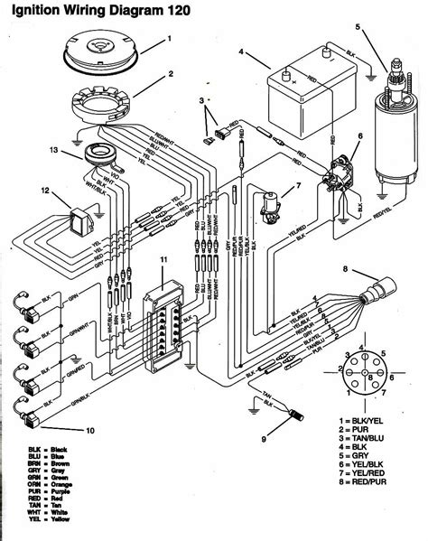 Mercury Solenoid Wiring by Wrg 7159 40 Hp Mercury Outboard Starter Solenoid Wiring