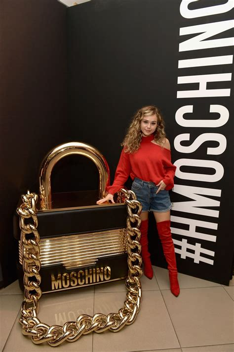 brec bassinger  moschino  hm launch party  los