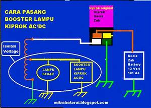 Solusi Battery  Booster Lampu Kiprok Ac Dc   Lampu Motor Semakin Terang Part 3