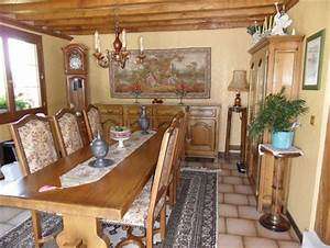 comment rendre moderne des meubles rustiques en chene With attractive quel mur peindre en fonce 1 deco cuisine sejour salon page 1