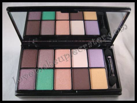 nyx  color eyeshadow palettes   eyes  brown