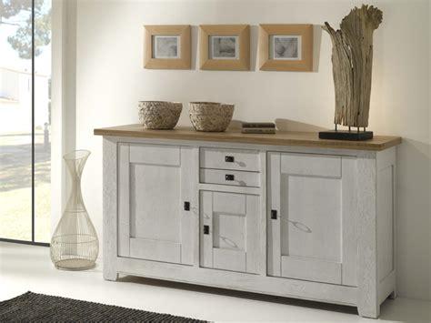 cuisine anthracite buffet en chêne finition blanchie meubles turone