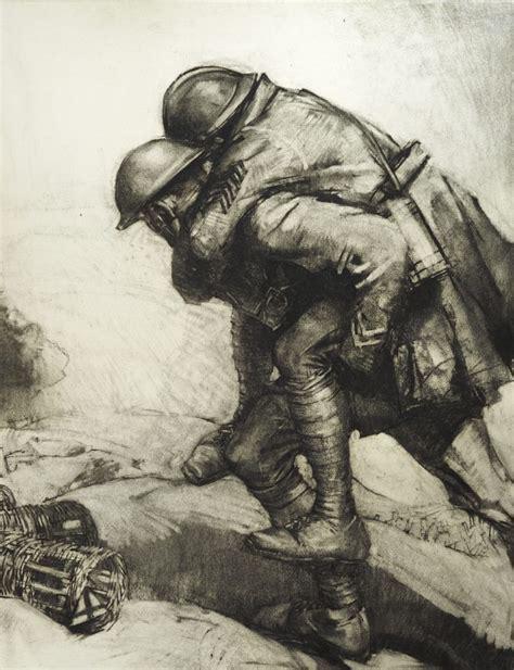 artist soldiers  world war   centennial smithsonian