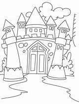 Bouncy Castle Drawing Coloring Getdrawings sketch template