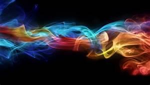 Rainbow, Smoke, 3d, Desktop, Hd, Wallpaper