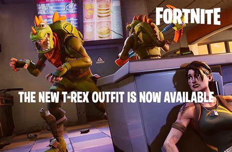 unlock   rex outfit fortnite battle royale kill