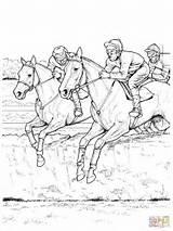 Kleurplaat Disegno Saltano Ostacoli Paarden Kleurplaten Fence Paard Ostacolo Ausmalbild Cheval Jockey Malvorlagen Galoppo Supercoloring Paardrijden Saltando Paardenhoofd Meiden Stoere sketch template