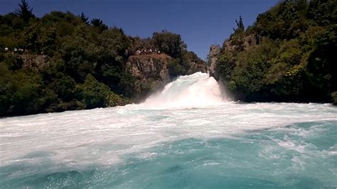 Boat Cruise Lake Taupo by Huka Falls From The Huka Falls River Cruise Boat In Lake