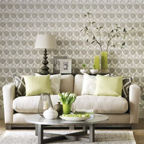 Living Room Wallpaper Neutral by Simple Living Room Designs Ideal Home