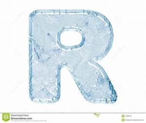 Ice font stock illustration. Illustration of reading ...