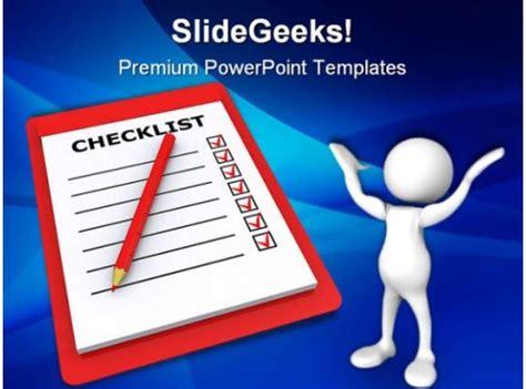 checklist business powerpoint templates  powerpoint