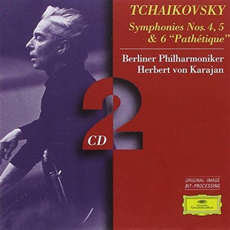 Symphonies No 4, 5, & 6 / Karajan, Berlin Po