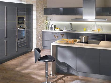 deco cuisine gris et noir deco cuisine noir et gris