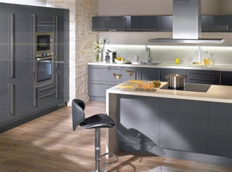 faience grise cuisine idee faience cuisine blanc sol gris chaios com