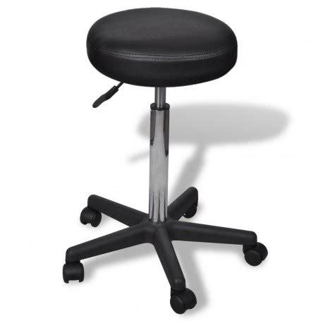 tabouret pour bureau tabouret hauteur réglable noir pour chaises tabourets a 79