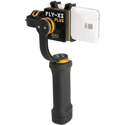 iphone stabilizer ikan fly x3 plus 3 axis smartphone gimbal stabilizer fly