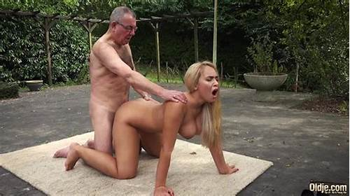 Old Model Bald Analed Gets By Fat Penis #Beautiful #Blonde #Girlfriend #Fucks #Horny #Old #Man #Doggystyle