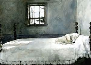 andrew wyeth master bedroom white flight of fancy nix the comfort zone