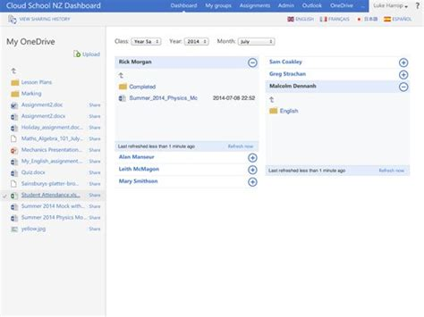 Office 365 Dashboard by Dashboard For Microsoft Office 365 Alternatives
