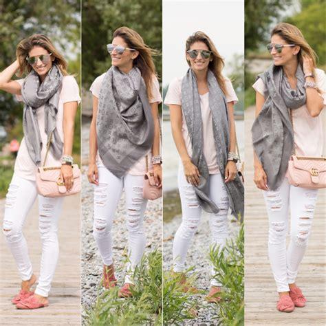 styling  louis vuitton monogram shine shawl sparkleshinylove