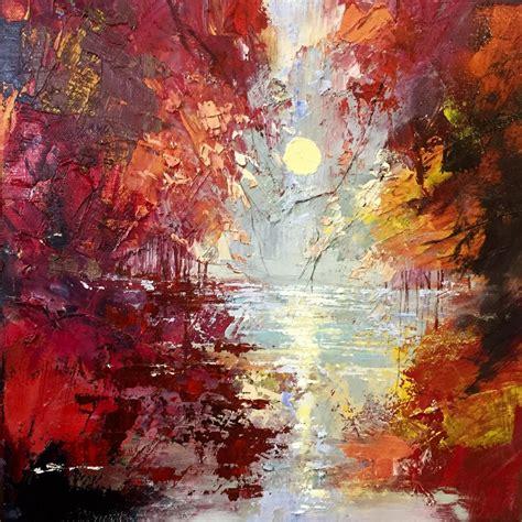 'Autumn Sun' Oil painting by Ewa Czarniecka   Artfinder